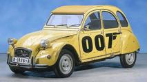 Citroen 2CV Voted Most Popular Bond Car