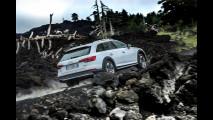 Audi A4 allroad, lo spot sull'Etna 003