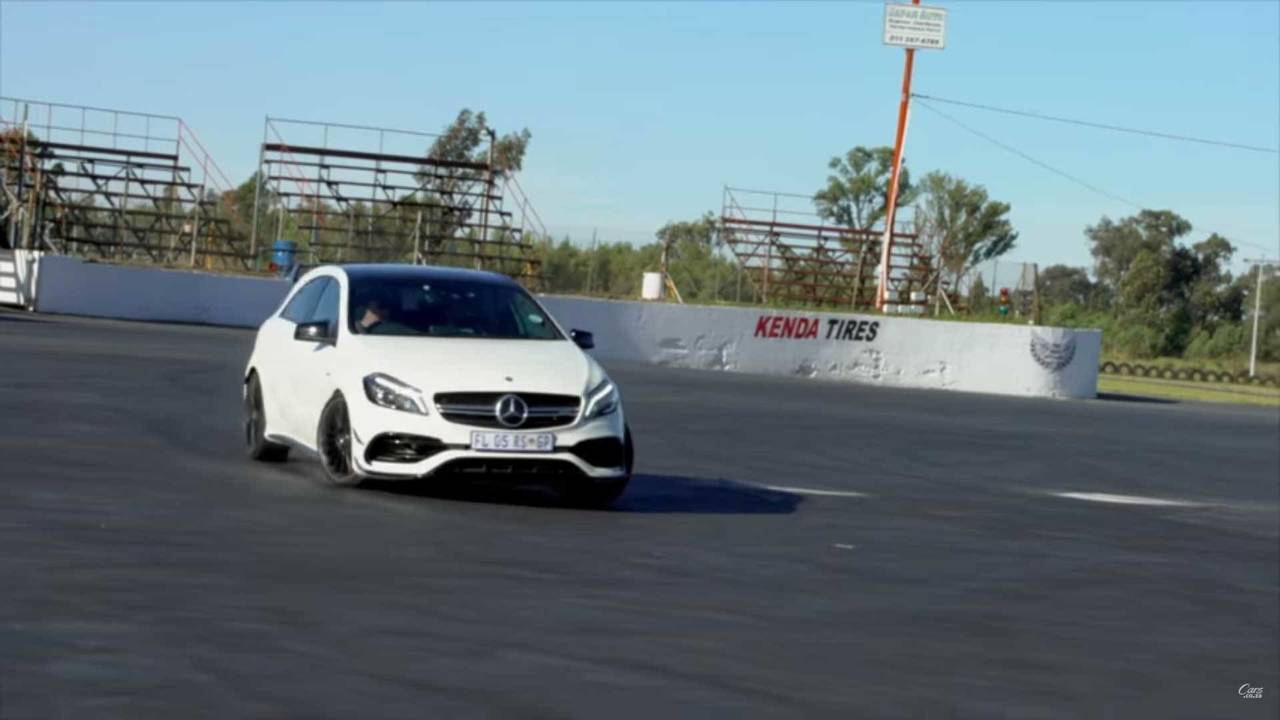 Audi Vs. Mercedes-AMG Drift Contest