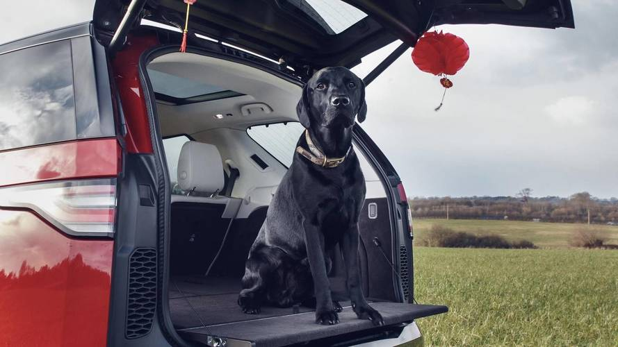 Land Rover welcomes in  the Year of the Dog with new pet packs