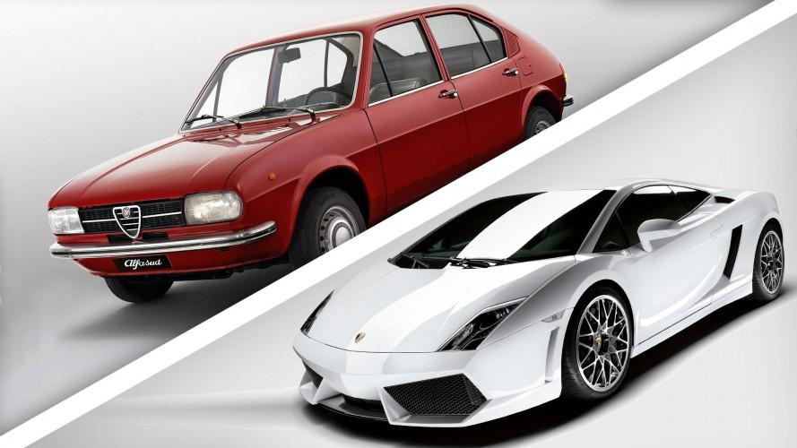Italdesign, 50 anni in 10 modelli