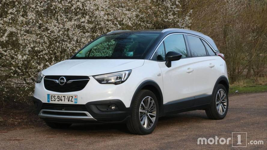 opel crossland x actualit s et essais france. Black Bedroom Furniture Sets. Home Design Ideas