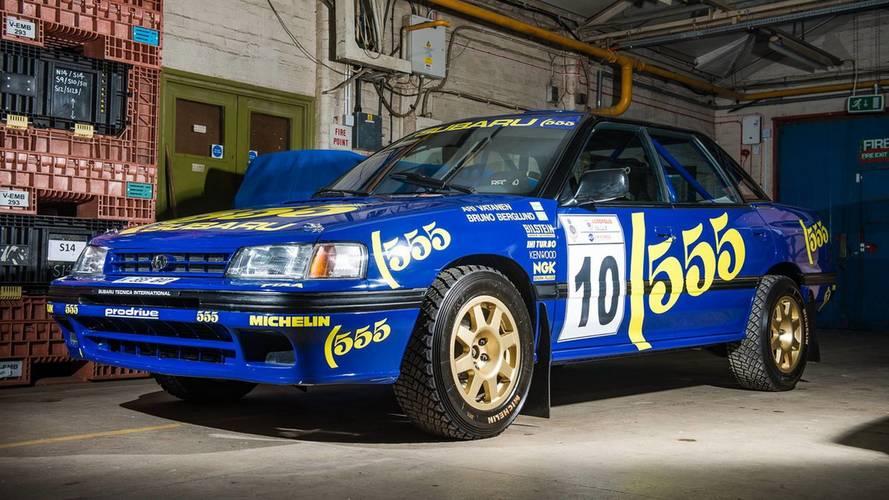 Richard Burns'ün kullandığı bu 1993 model Subaru Legacy satılık