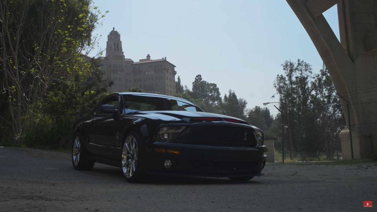 Bad: Ford Mustang in Knight Rider (2008 TV Series)