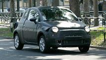 Spy Photos: New Fiat 500