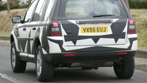 Land Rover Freelander on the Road Spy Photos