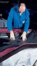 Carrera GT gövde parçalarının tabakalandırılması