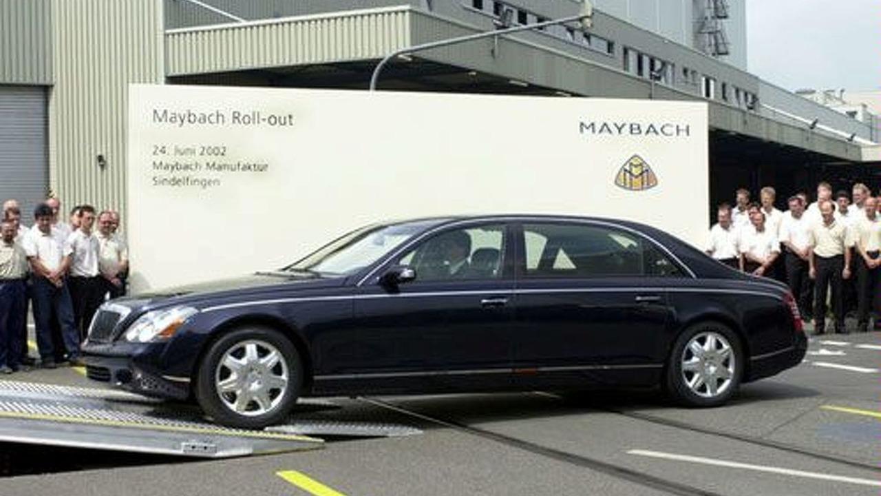 Maybach Rollout at Sindelfingen