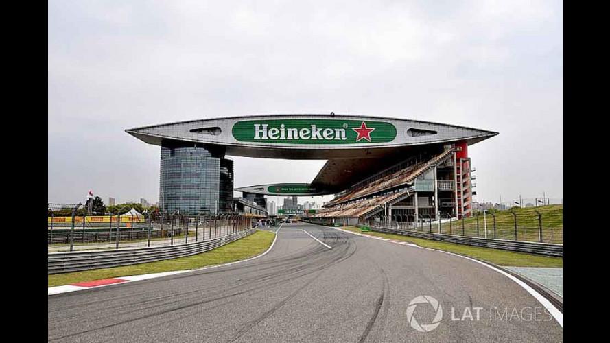 Formel-1-Wochenende in Schanghai