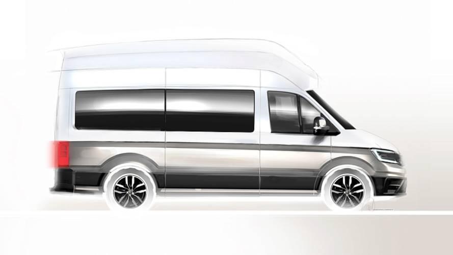 Volkswagen California XXL Camper Van teaser görselleri