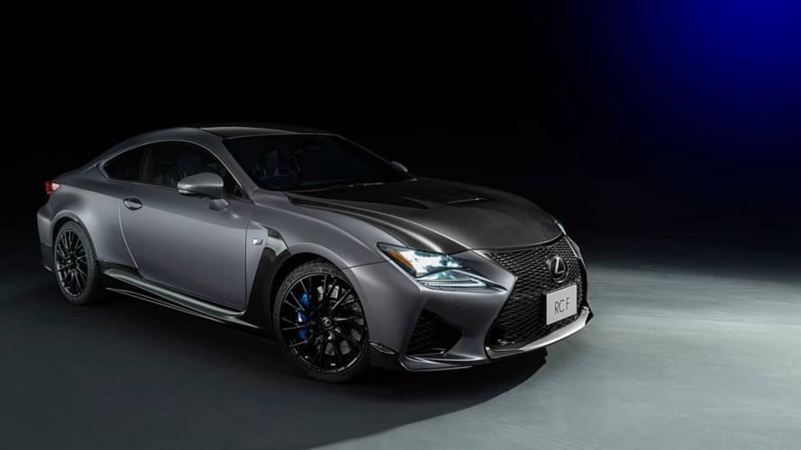 Lexus, F versiyonlarının 10.yılına özel bir RC Coupe hazırladı