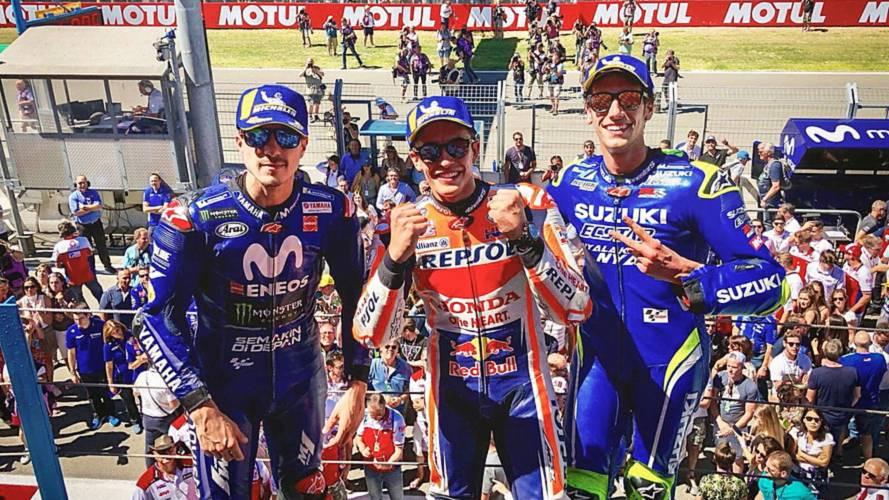 Marc Márquez se lleva la carrera de MotoGP del año en Assen
