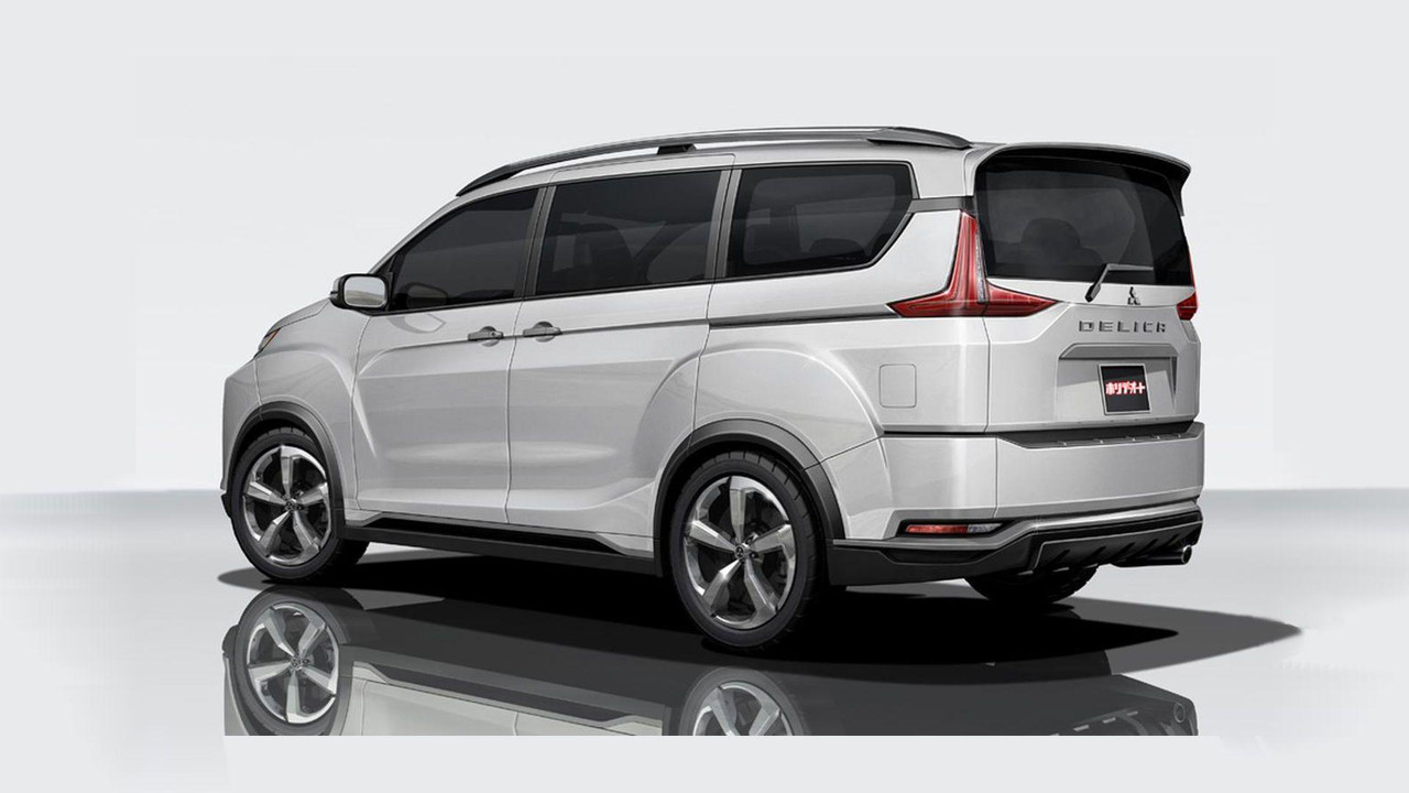 All-New Mitsubishi Delica Is Not Your Typical Spy Photo