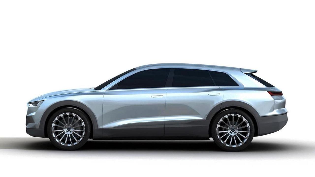 Proport Audi Q6 rendering