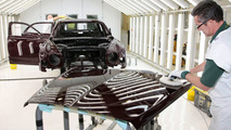 Bentley Mulsanne in the Paintshop