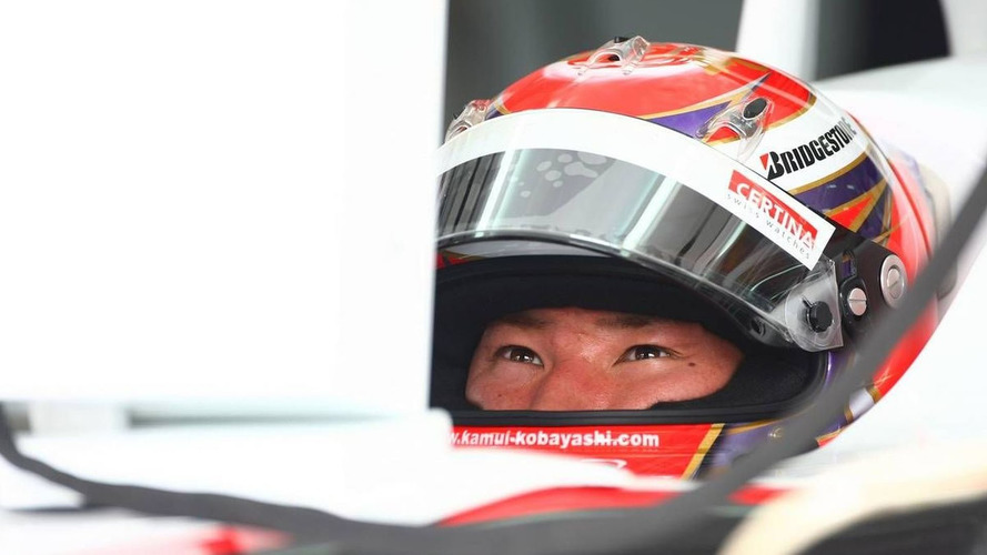 Kobayashi learned Albert Park on Toyota simulator
