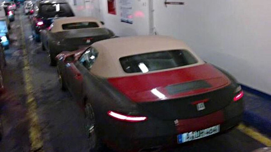 Mercedes SLS AMG Roadster spied completely uncovered