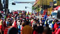 Fans outside the track - Formula 1 World Championship, Rd 18, Brazilian Grand Prix, 07.11.2010 Sao Paulo, Brazil