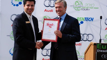 Audi A3 TDI, Eureka! Diesel Drives the Future, Manuel J. Carrillo, District Representative at California State Senate and Hunt Ramsbottom