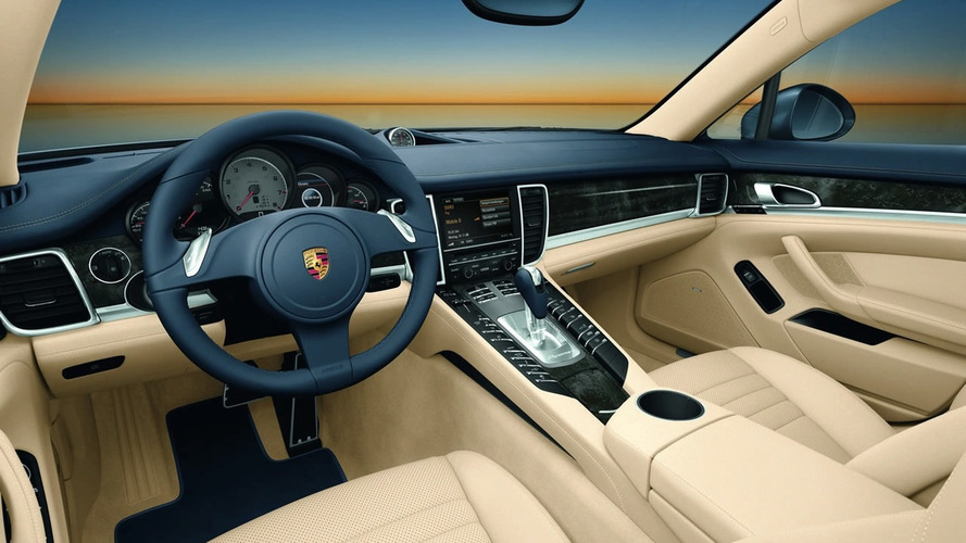2010 Porsche Panamera: Interior Shots Officially Released
