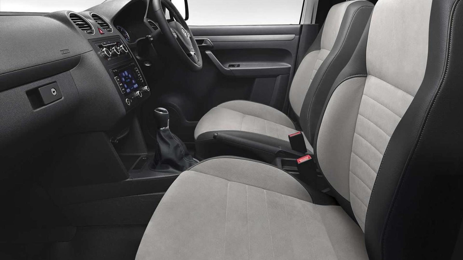 Фото салона Volkswagen Caddy Black Edition
