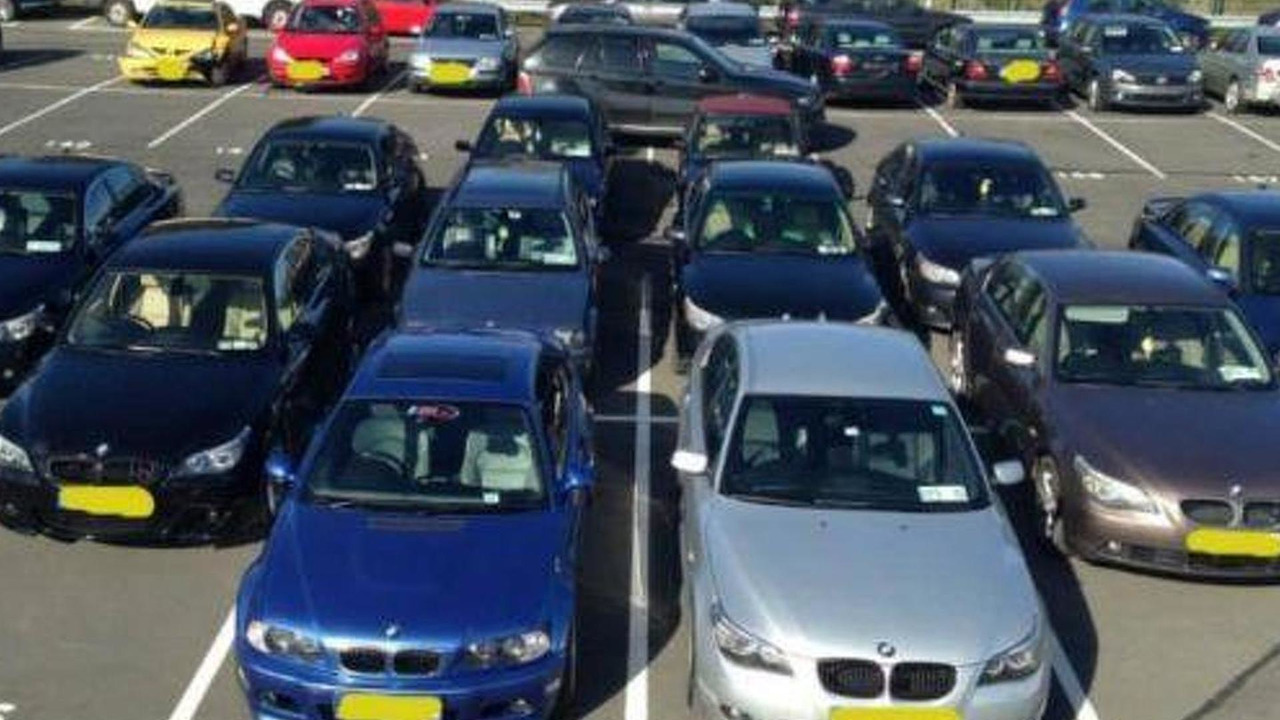 BMWs seized by Irish police