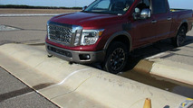 2016 Nissan Titan development / testing photo