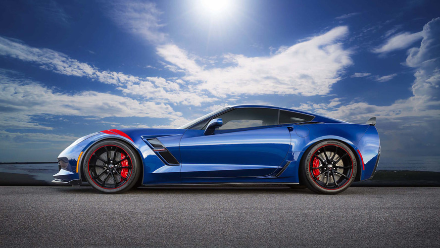 Chevrolet Corvette Grand Sport Admiral Blue Heritage Edition