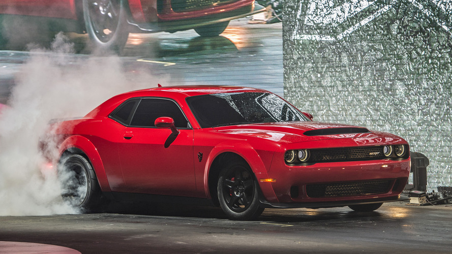 New York 2017 - La Dodge Challenger SRT Demon est bien possédée !