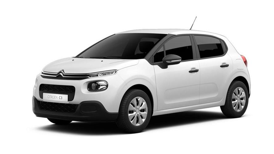 Citroën C3 Comercial 2017, versión laboral