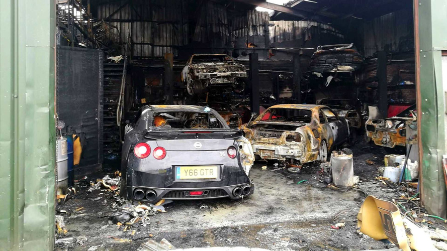 Blaze Tears Through Japanese Car Specialist