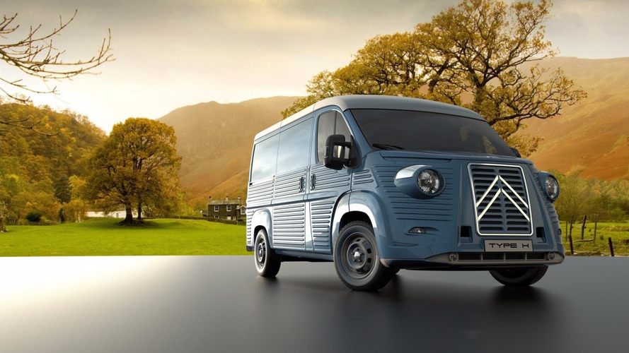 Body Kit Transforms New Citroën Jumper Into A Classic Type H Van