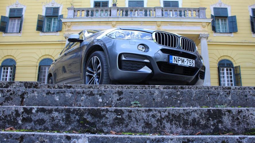 BMW X6 M50d: ő itt Obey, azaz 381 lóerő szerető gazdára vágyik