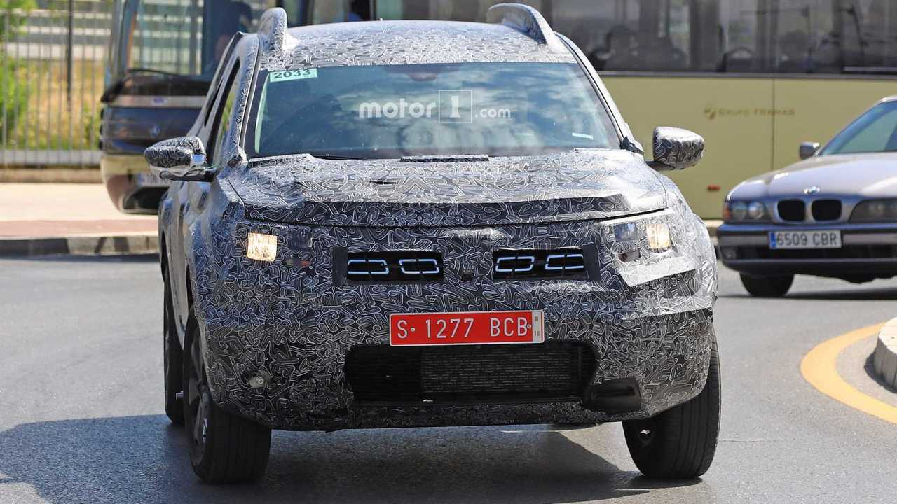 Dacia Duster 2018 fotos espía