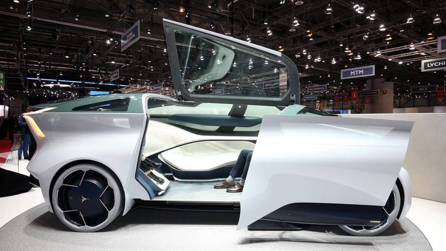Icona Nucleus Concept Live From Geneva Motor Show