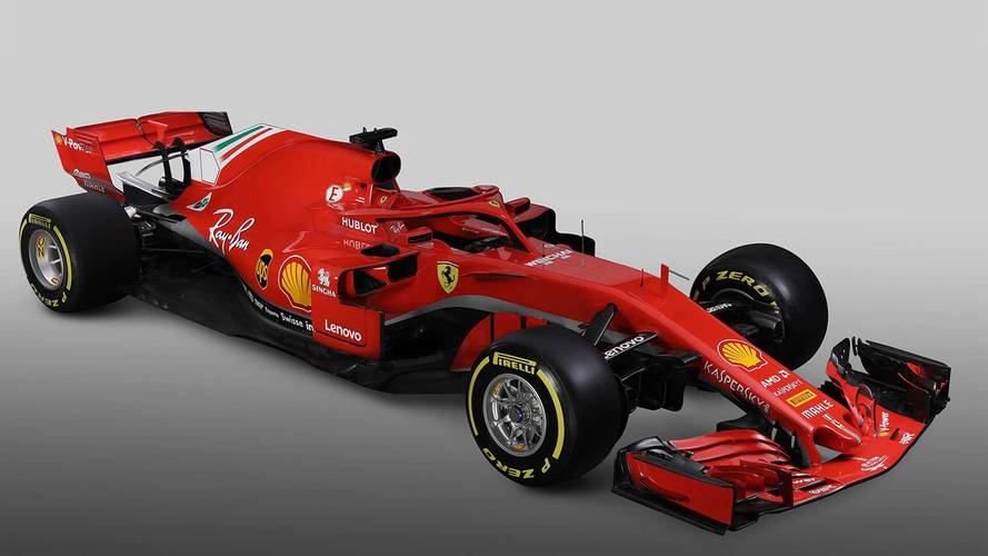 Ferrari unveil new auto for 2018 Formula 1 season