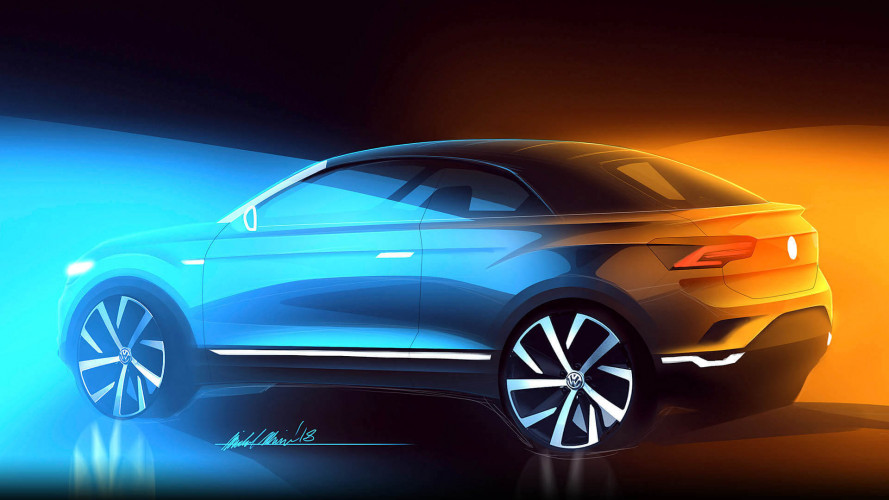 Volkswagen confirms production-spec T-Roc convertible SUV