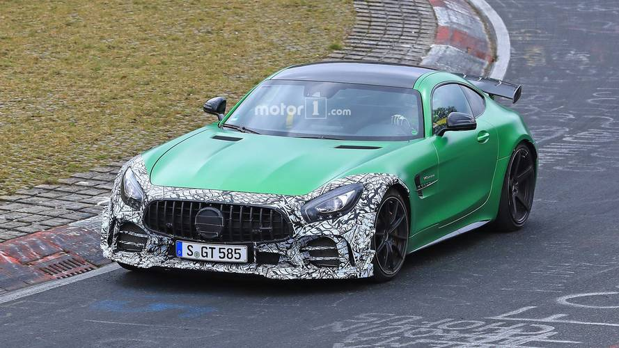 Mercedes-AMG Spotted Testing Updated GT R At The Nurburgring