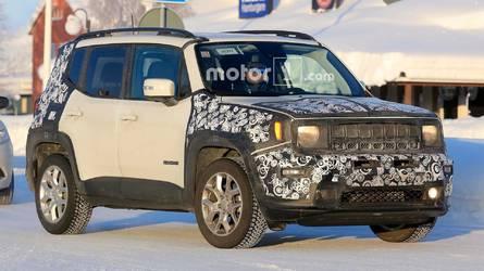 Flagra revela Jeep Renegade 2019 com novidades no visual