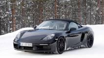 Photos espion - Porsche 718 Boxster Spyder