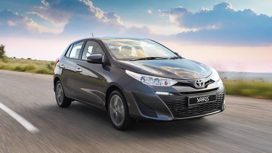 Toyota Yaris chega ao Chile pouco antes de estrear no Brasil