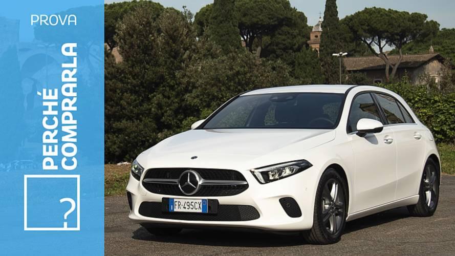 Mercedes Classe A, perché comprarla... e perché no