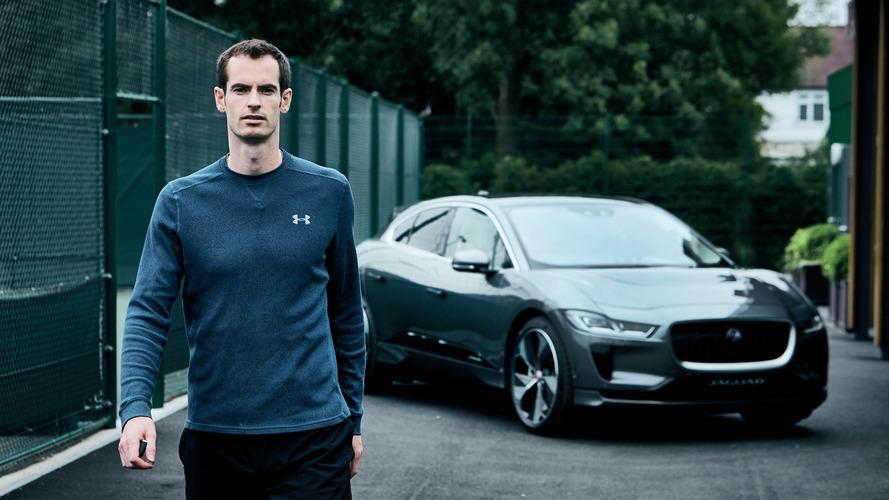 Jaguar I-Pace Andy Murray