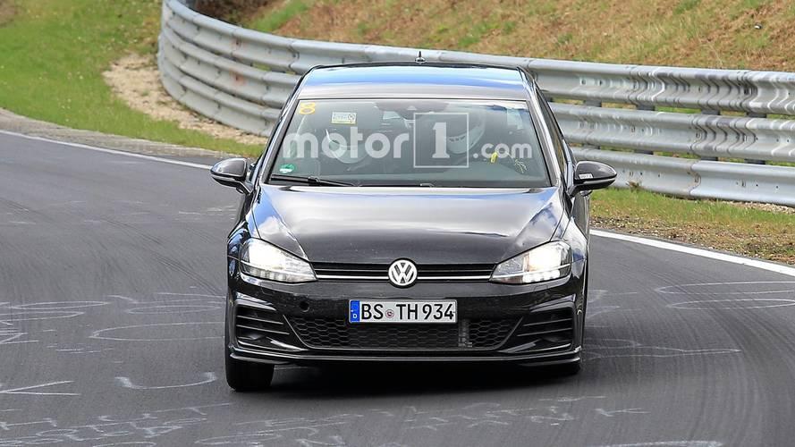 Volkswagen Golf 8 Photos espion