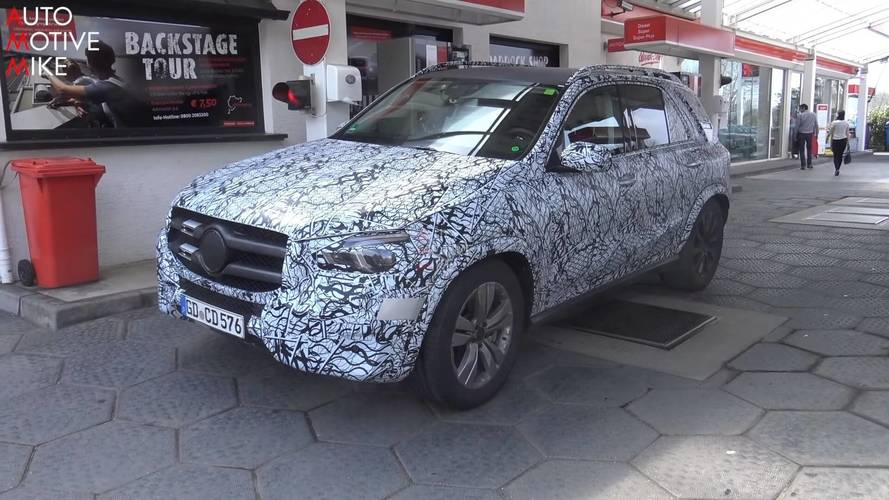Spend 7 Minutes With The New Mercedes GLE At The Nurburgring