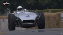 Lister-Jaguar crash at Goodwood