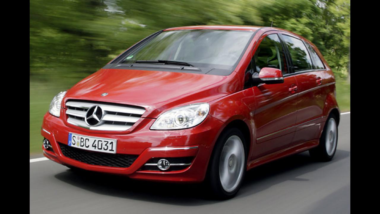 Kompaktvans: Mercedes B-Klasse