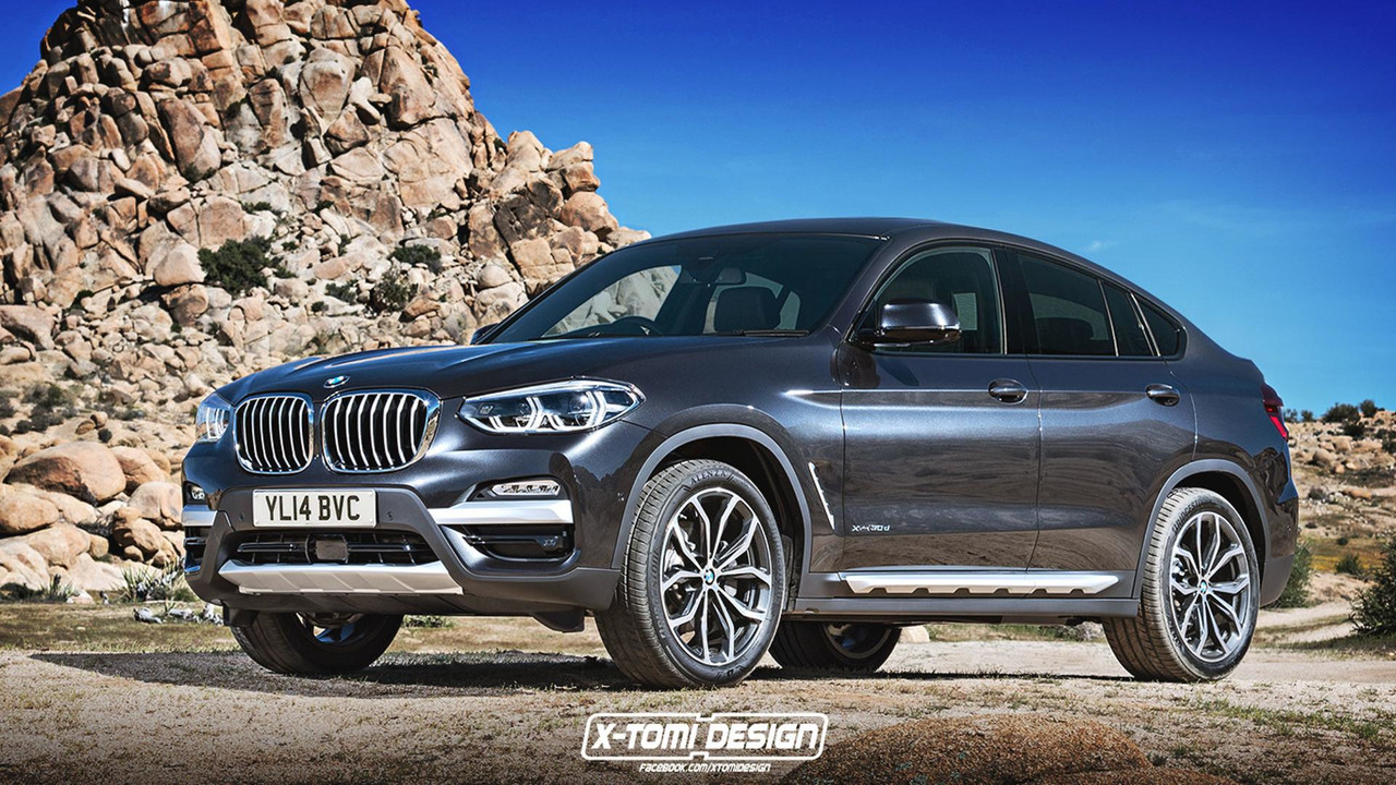 2019 BMW X4 render based on the new X3