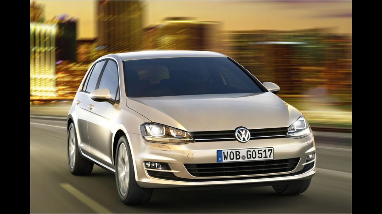 Kompaktklasse, Platz 1: VW Golf (136.235 Stück)