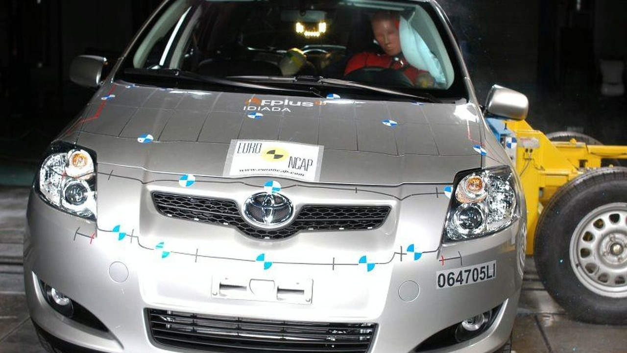 New Toyota Yaris Crash Test - Side